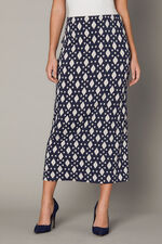 Printed Jersey Tube Skirt