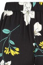 Floral Spun Viscose Short
