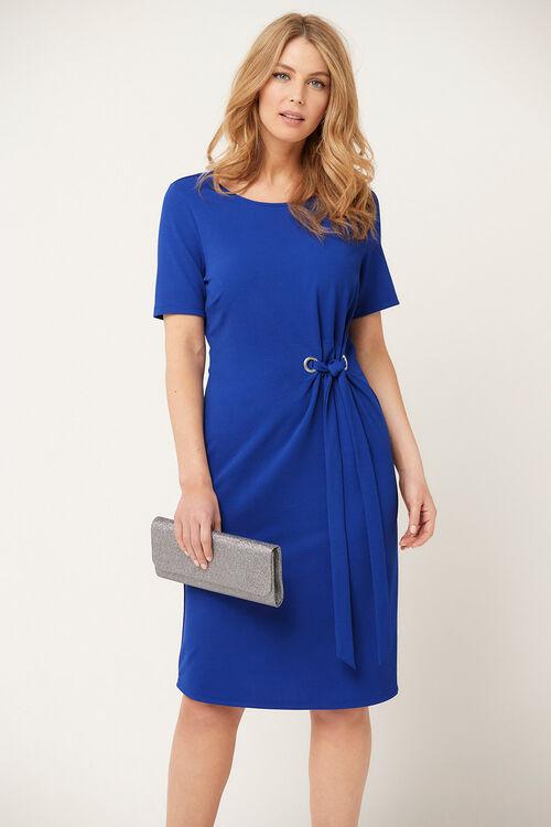 Cobalt Eyelet Dress