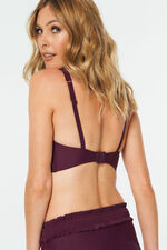 Shirred Detail Bikini Top