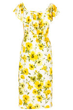 Bardot Floral Dress