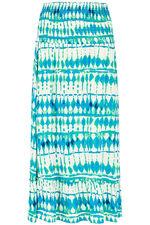 Tie Dye One Tier Skirt Dress