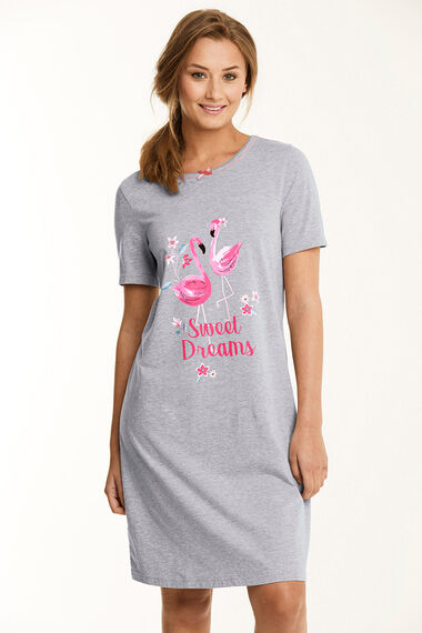 Flamingo Placement Nightshirt