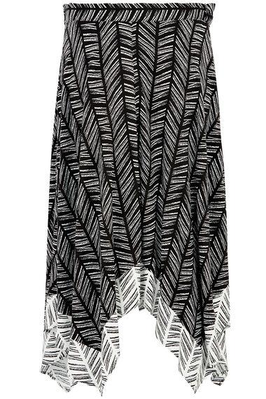 Hanky Hem Border Skirt
