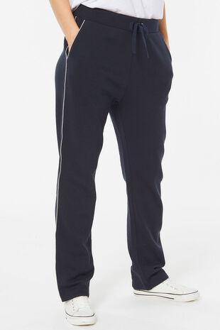 Regular Jog Pant with Contrast Piping