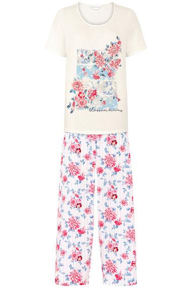 Floral and Stripe Pyjamas