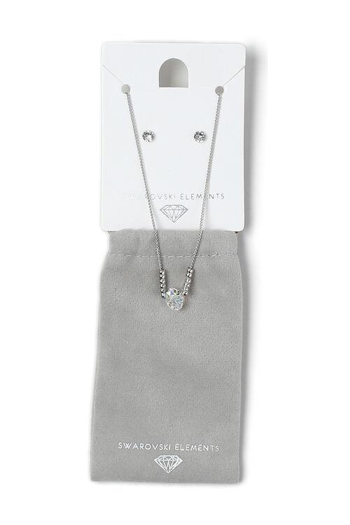 Muse Swarovski Elements Beaded Pendant And Earring Set