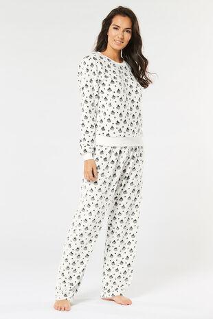 Stella Morgan Dalmation Print Loungewear Set