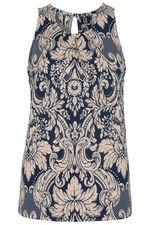 Izabel Sleeveless Paisley Print Top