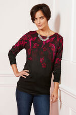 Trailing Floral Print Tunic