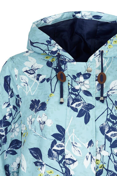 Printed Waterproof Parka