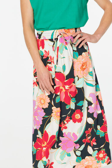 Toggle Maxi Skirt
