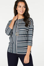Stripe Printed T-Shirt
