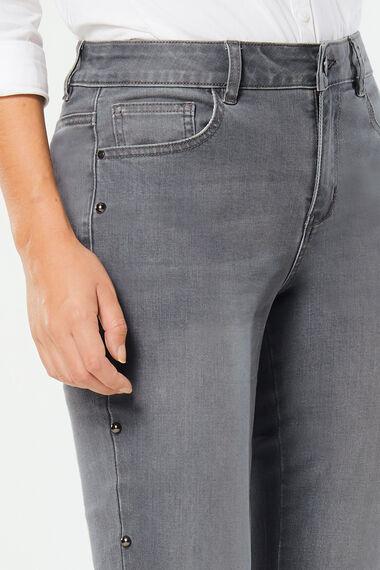 Stud Slim Leg Jean