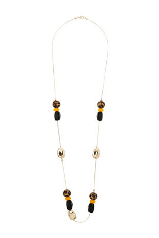 Muse Beaded Rope Necklace