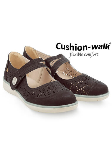 Cushion Walk Touch Fasten Bar Shoe