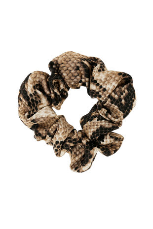 Muse Snake Print Scrunchie