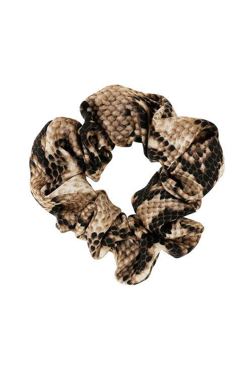 Muse Snake Print Scrunchie