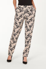 Floral Printed Harem Trousers