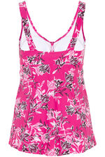 Leaf Print Swimdress