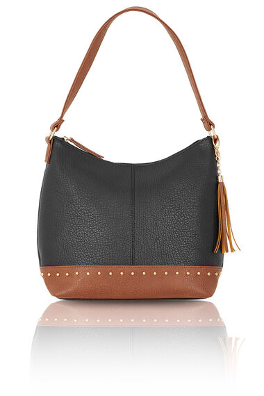Stud Detail Shoulder Bag