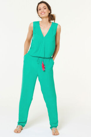 Isla & Rose Sleeveless Jumpsuit