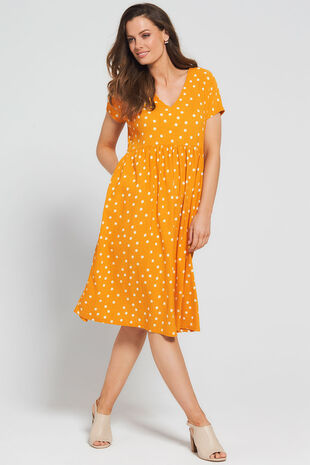 Grace By Eda Mini Dot Dress