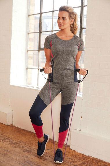 NVC Activewear Colourblock Sports Top