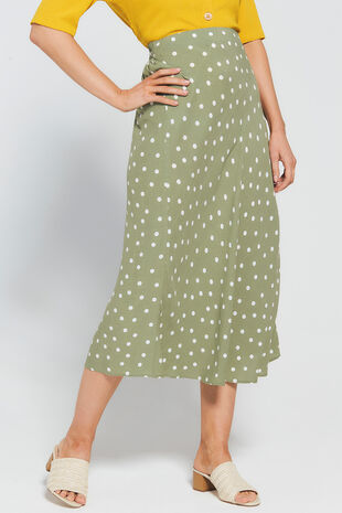 Grace By Eda Mini Dot Skirt