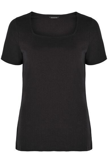 Square Neck Basic T-shirt