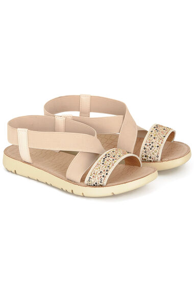 Cushion Walk Valencia Elastic Diamante Sandal