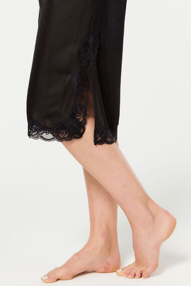 Lace Trim Waist Slip