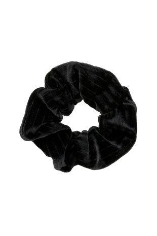 Muse Black Velvet Scrunchie