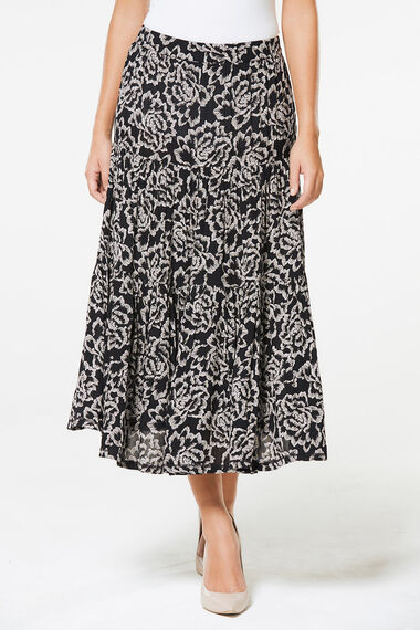 5eec3f4c9565 Crinkle Maxi Skirt | Collect In-store & Home Delivery | Bonmarché