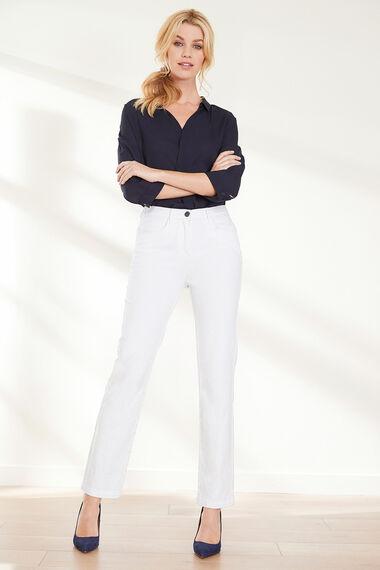 The SARA Straight Leg Jean