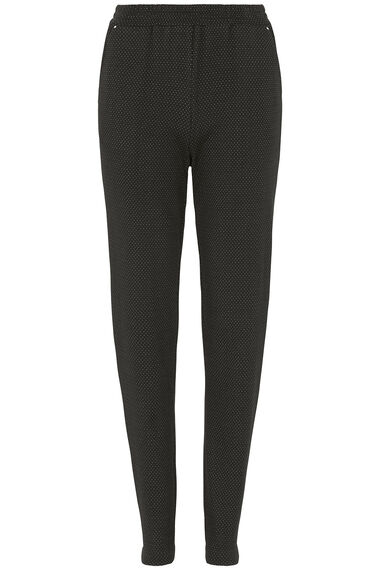 Spot Ponte Tapered Trousers