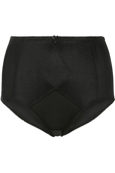 Smooth Curves Stitch Detail Firm Control Brief