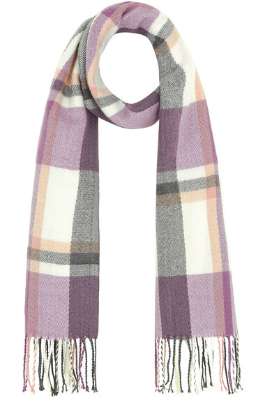 Pastel Checked Scarf