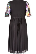 Scarlett & Jo Tropical Boarder Print Dress