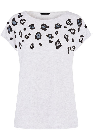 Animal Foil Detail T-Shirt