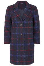 Smart Check Coat