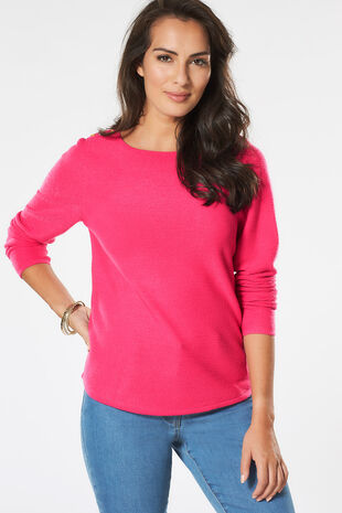 Supersoft Ripple Textured Jumper