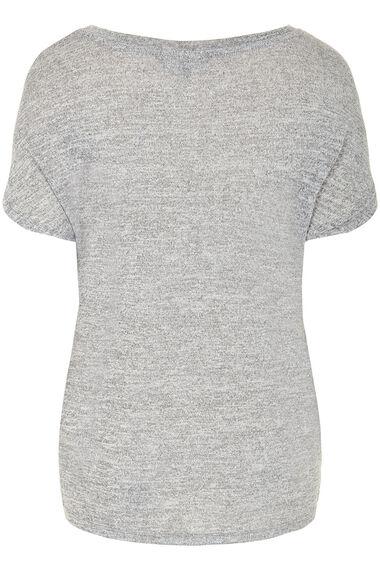 Animal Foil Print T-Shirt
