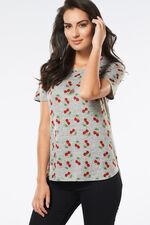 Cherry Print T-Shirt