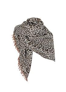 Leopard Print Blanket Scarf