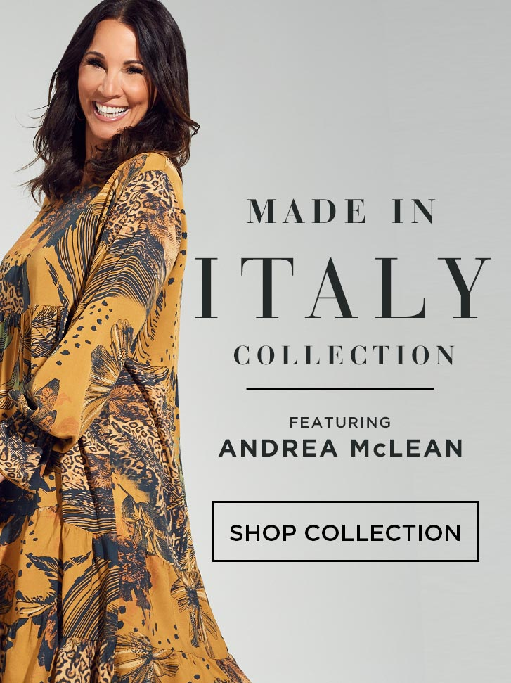 Made In Italy - Featuring Andrea McLean