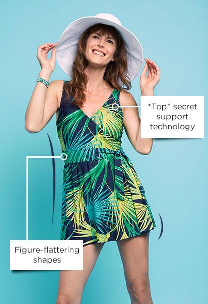 *Top* secret support technology  - Figure-flattering shapes