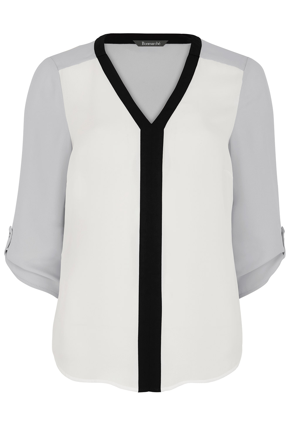 b3d42f10201f Colour Block Blouse