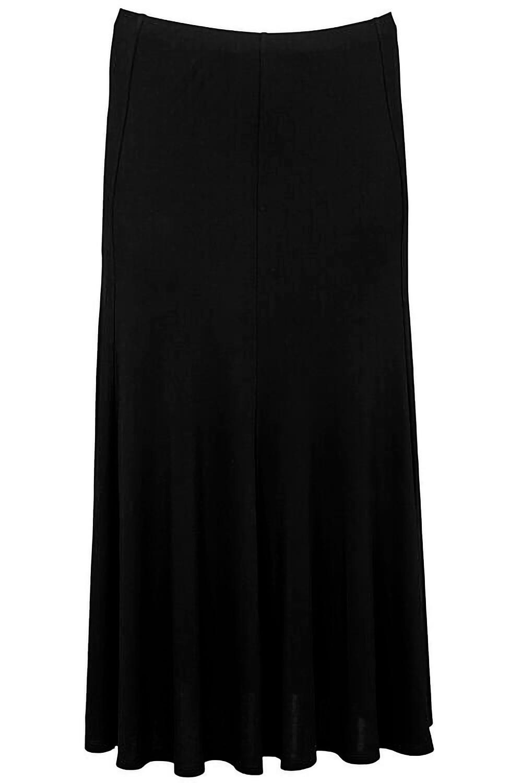 e6e73bbc798e Ann Harvey Heavy Jersey Crepe Maxi Skirt