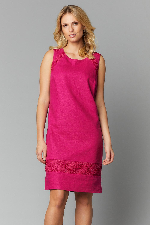 58bc439afeb Linen Blend Shift Dress